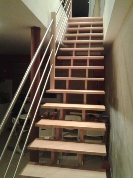 Menuiserie Preud\'homme sprl - Escaliers contemporains
