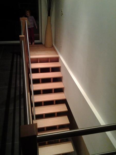 Menuiserie Preud'Homme Sprl - Escaliers Contemporains
